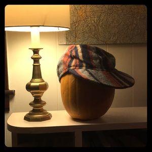 blanket-striped hillside hat for a special boy